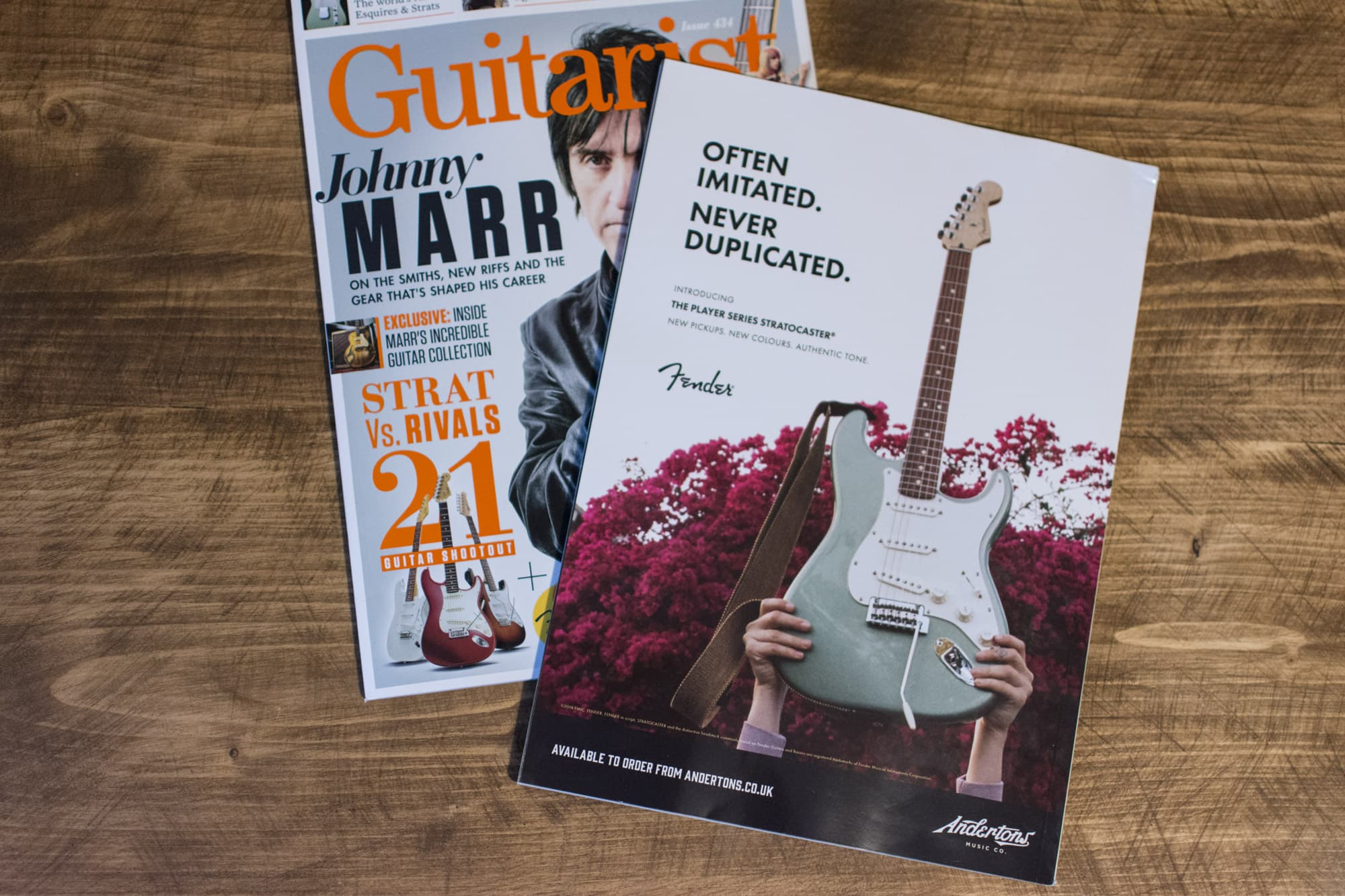 Andertons Music Co: Guitarist Magazine Advertising - Issue 435