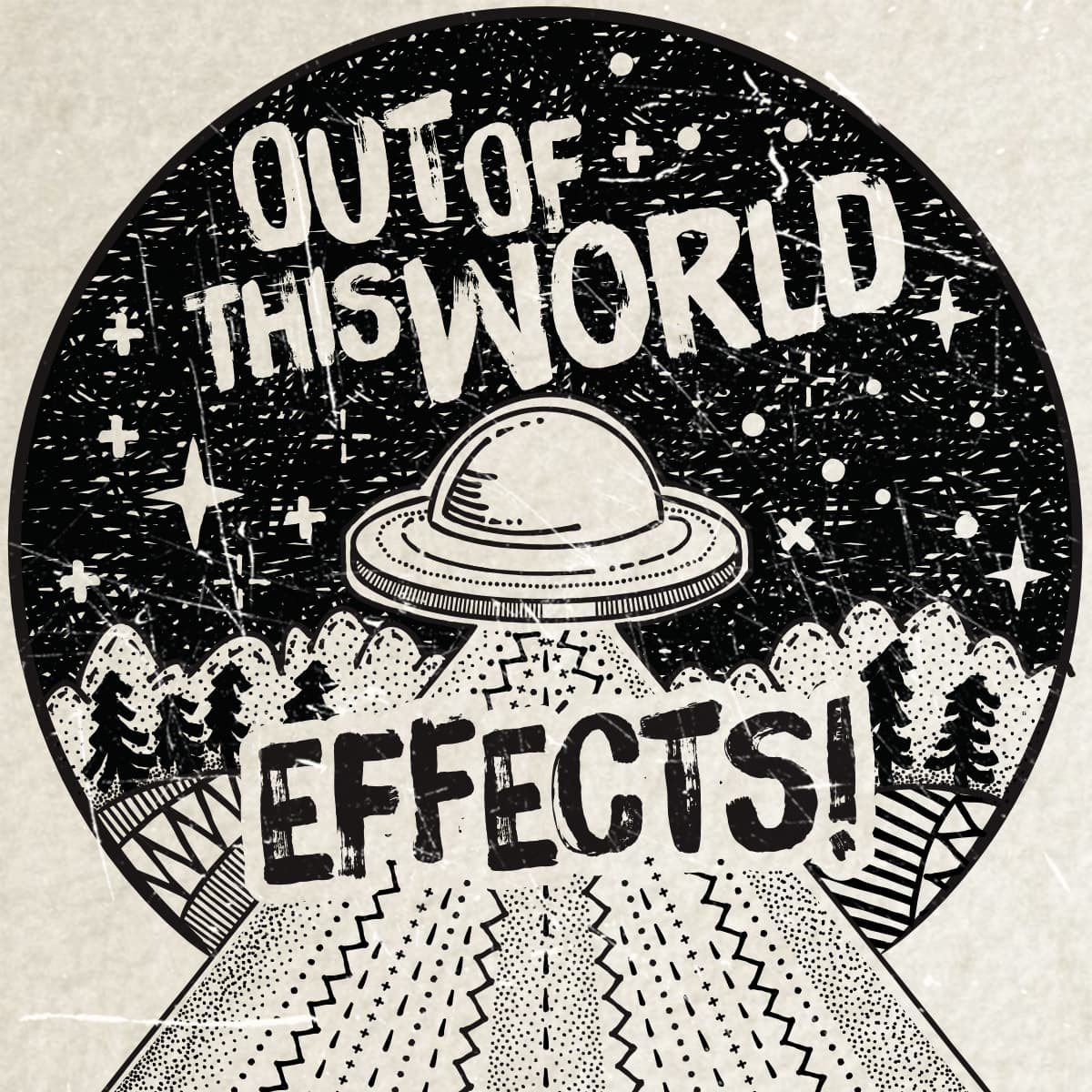 Andertons Music Co: Infographics & Illustrations - Out of this World Effects