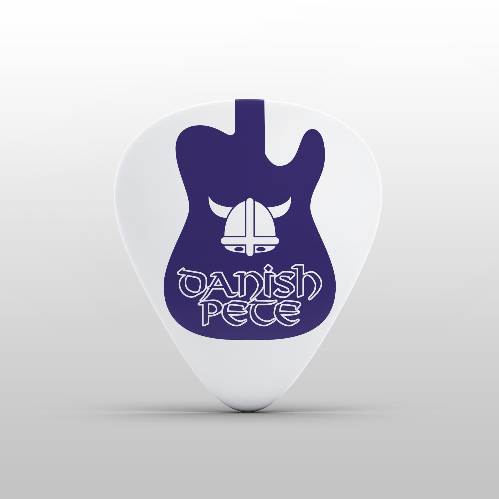 Andertons Music Co: Infographics & Illustrations - Danish Pete's Plectrum