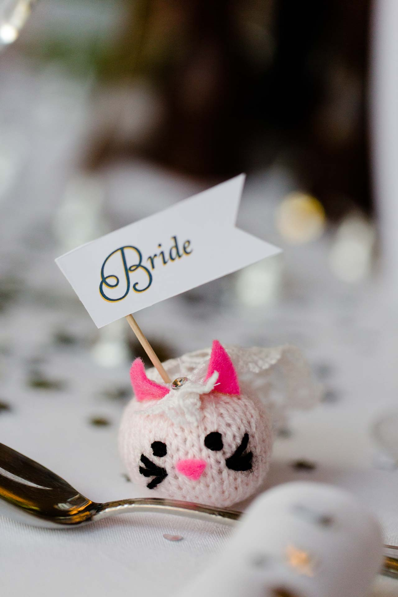Andy & Nicola Wedding Stationery - Wedding table names