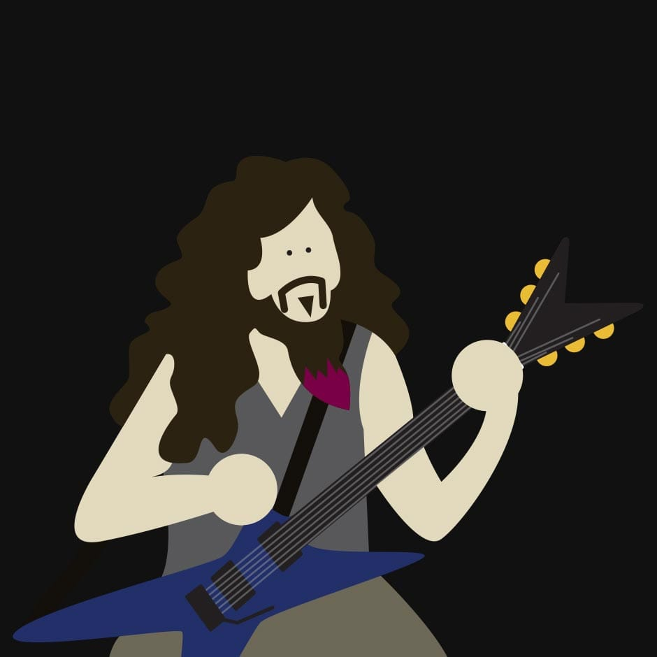 Illustration: Music - Dimebag Darrell
