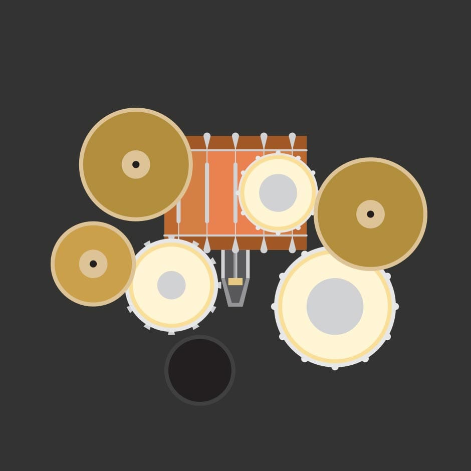 Illustration: Music - Drums