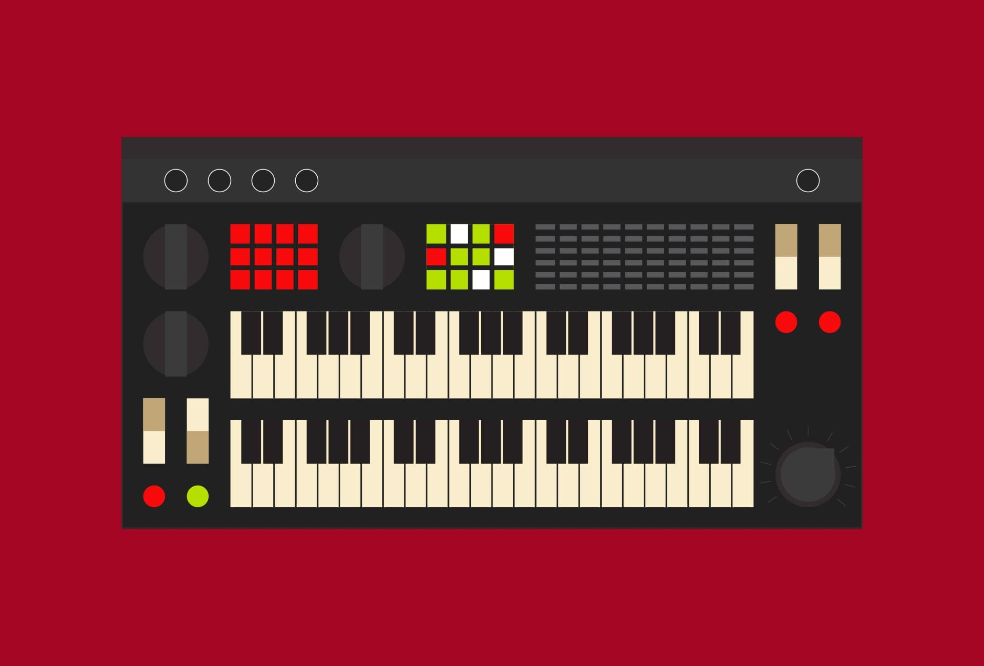 Illustration: Music - Keyboard