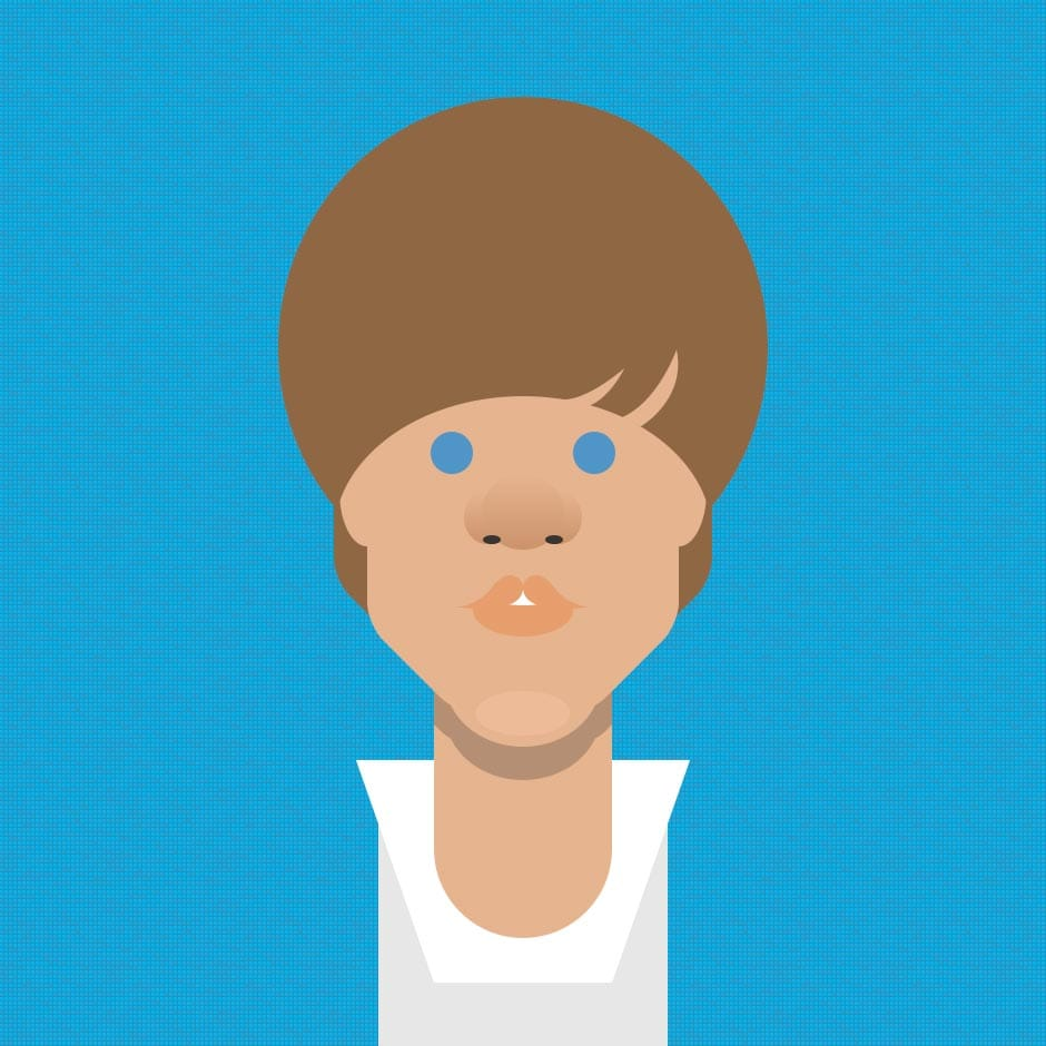 Illustration: Portraits - Justin Beiber