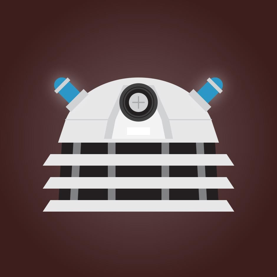 Illustration: Portraits - Doctor Who, Dalek