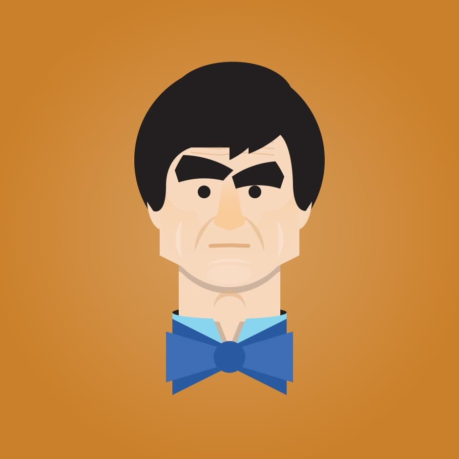 Illustration: Portraits - Doctor Who, the Second Doctor
