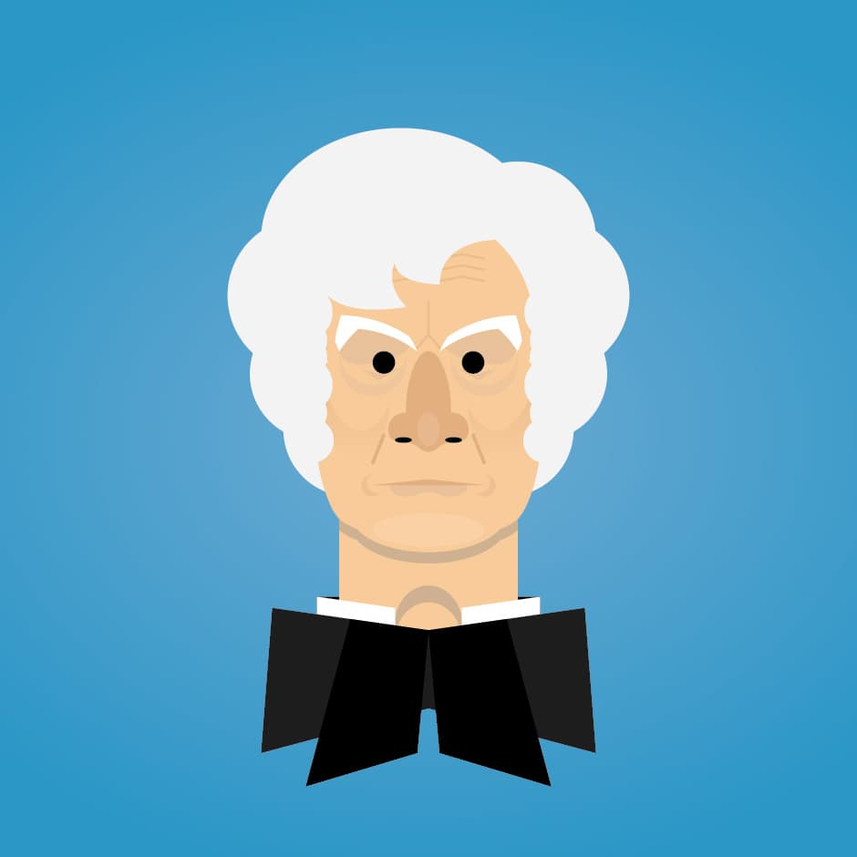 Illustration: Portraits - Doctor Who, the Third Doctor