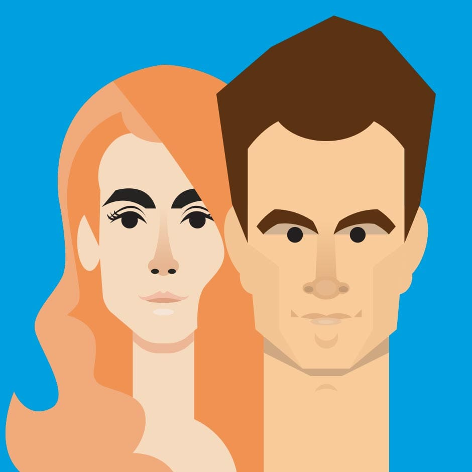Illustration: Portraits - Lana Del-Ray & Morrissey