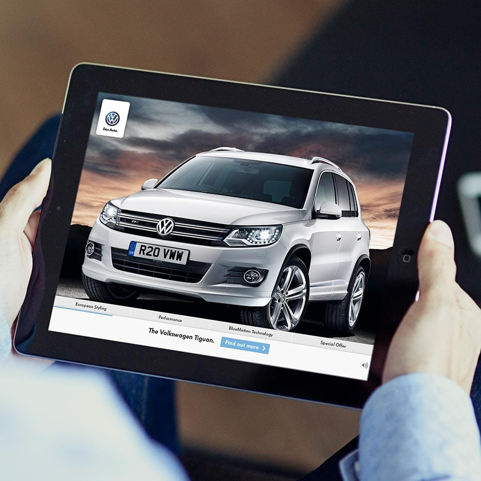 Social Ally: Various - Tiguan - Interactive video